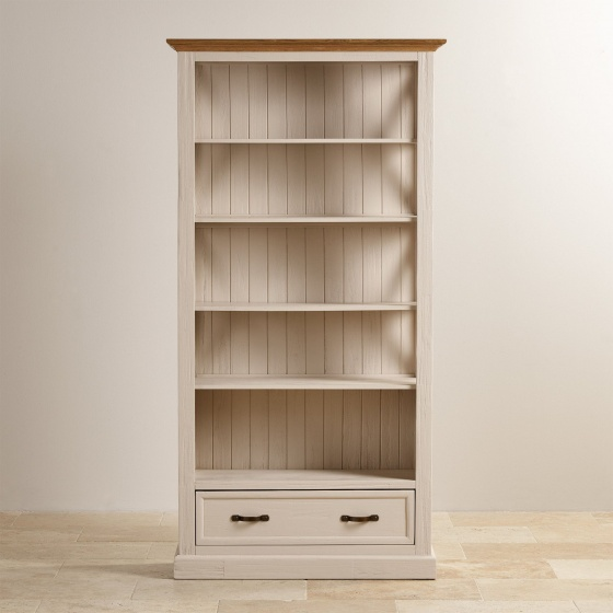 Tủ kệ sách cao Sark gỗ sồi - Cozino