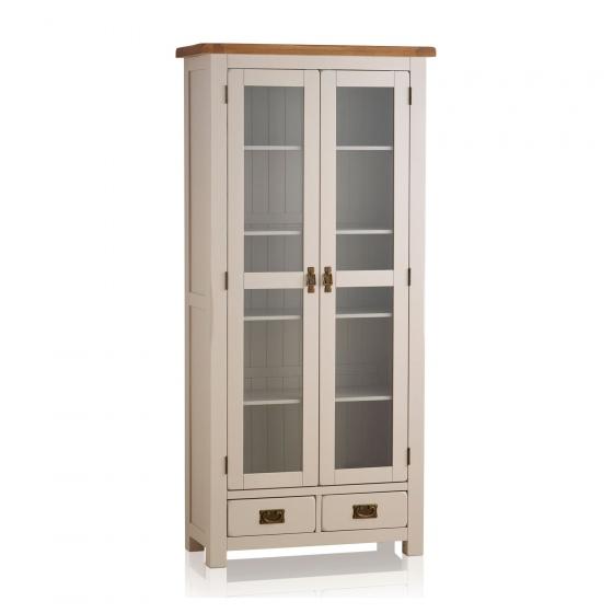 Tủ trưng bày Sintra gỗ sồi 1m - Cozino