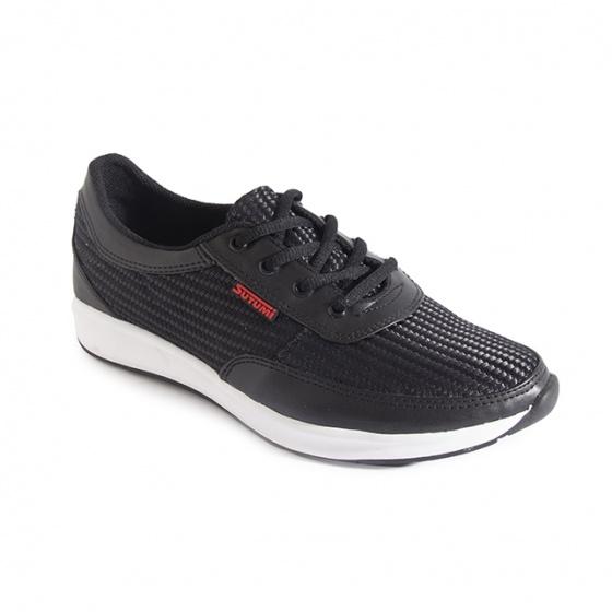 Giày sneaker nam Sutumi M207 - đen
