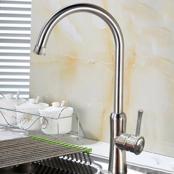 Vòi rửa bát nóng lạnh inox 304 Zento SUS5586-1