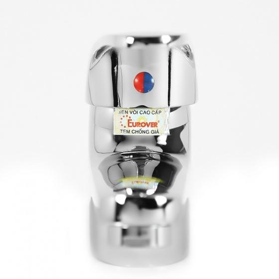Vòi lavabo nóng lạnh đồng thau nguyên chất Eurover-4023 NT0429