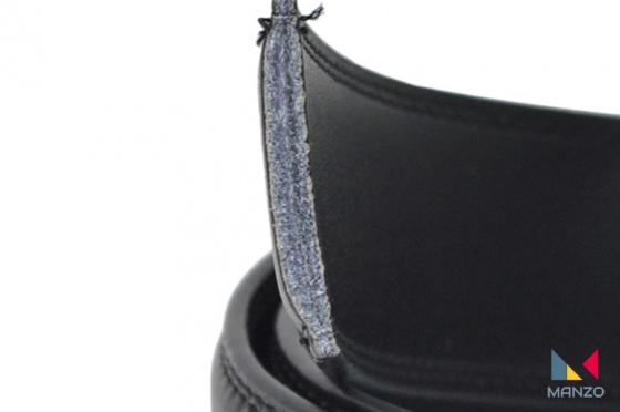 Thắt lưng- Dây nịt nam da thật 100% dập mặt chữ H khóa tự động MANZO mặt chữ H ( Tặng móc khóa bò thật) bảo hành 1 năm.