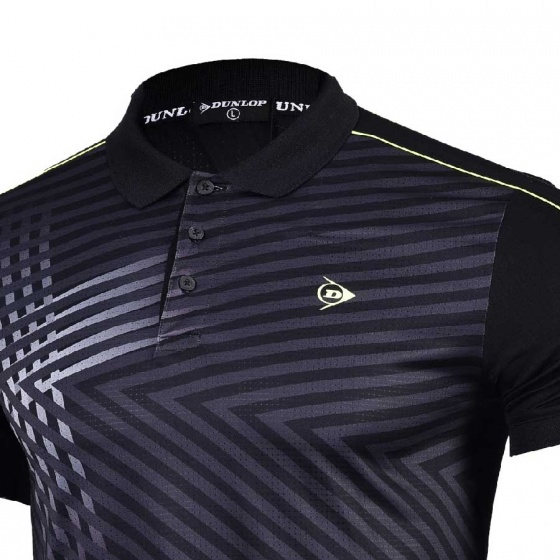 Áo thể thao nam Dunlop - DABAS8088-1C-BK (đen)