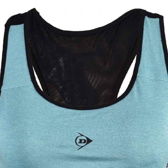 Áo Bra thể thao Nữ Dunlop - DAGYS8116-2-GM (Xanh ngọc)