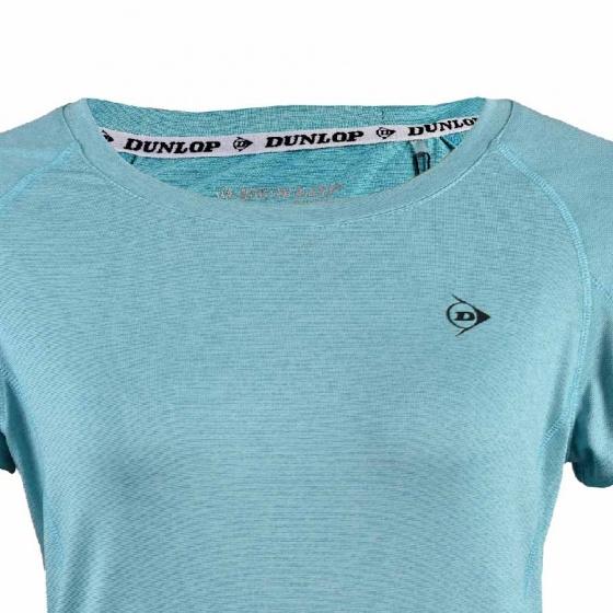 Áo thể thao Nữ Dunlop - DAGYS8120-2-GM (xanh ngọc)