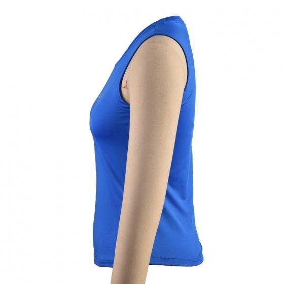 Áo thể thao Nữ Dunlop - DAGYS8124-2-CL (xanh da trời)