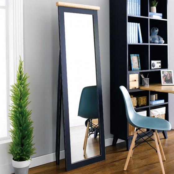 Gương đứng Lantana 100% gỗ sồi  - Cozino
