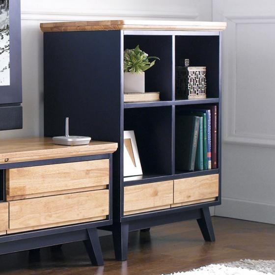 Tủ trưng bày nhỏ Lantana gỗ cao su - Cozino