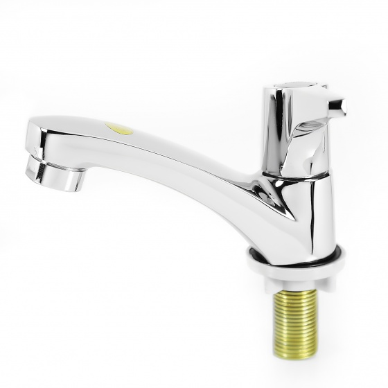 Vòi lavabo lạnh đồng thau nguyên chất Eurover-5017 NT0437
