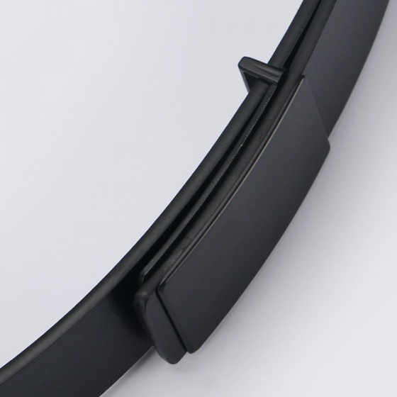 Thắt lưng da nam cao cấp SACAS NS005 (Xám đậm)