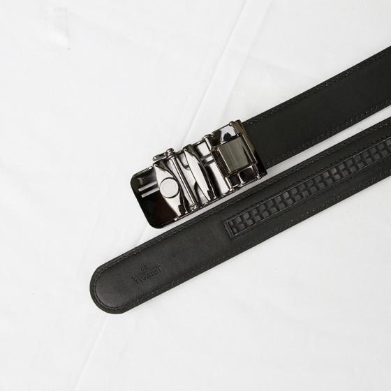 Thắt lưng- dây nịt nam da bò thật 100% trẻ trung lịch lãm khóa tự động Manzo 904 (tặng móc khóa da thật) BH 1 năm.