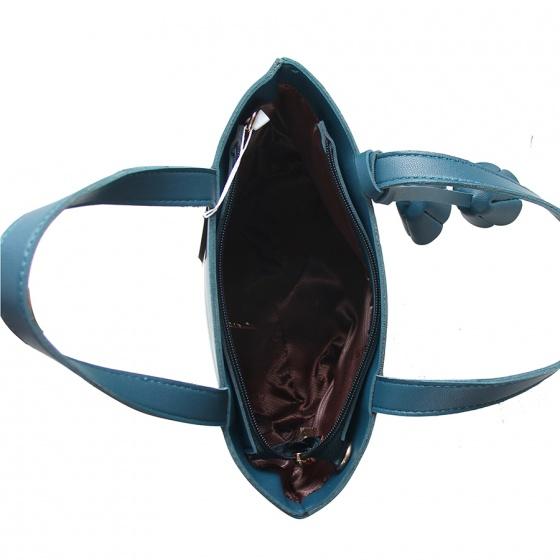 Túi xách thời trang Verchini màu xanh cổ vịt 13000334