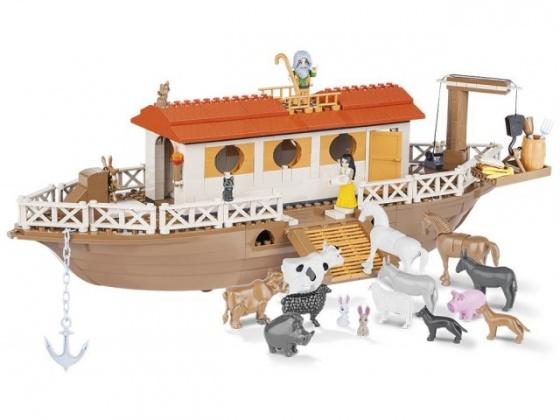 Đồ chơi lắp ráp thuyền Noah Cobi - 28026