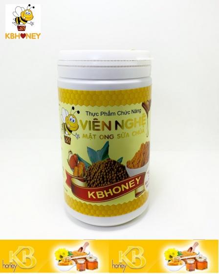 Viên nghệ mật ong sữa chúa KB 500G