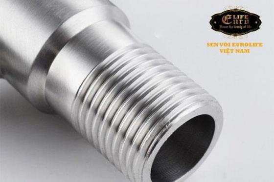 Van chia giảm áp - khóa 2 đường nước Inox SUS 304 Eurolife EL-X30 (trắng vàng)