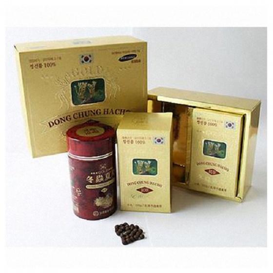 Đông trùng hạ thảo Hàn Quốc hộp giấy (Kim Sâm)
