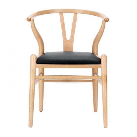 Ghế Wishbone mặt simili nhiều màu