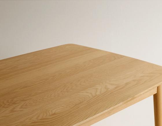 Bàn Suwon gỗ cao su nhiều màu 1m2