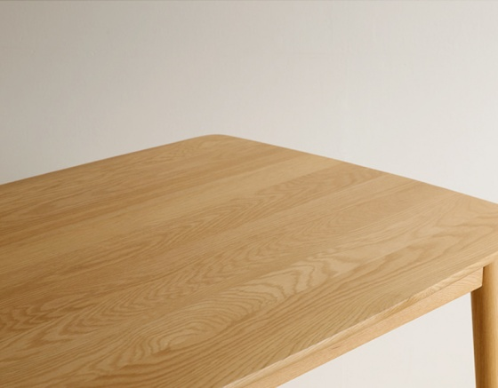 Bàn Suwon gỗ cao su nhiều màu 1m4