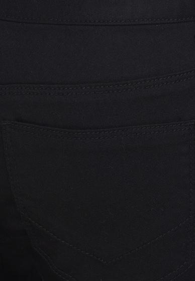 Quần jean nữ dáng dài trơn màu đen Hàn Quốc Orange Factory EQP9L348 WSB