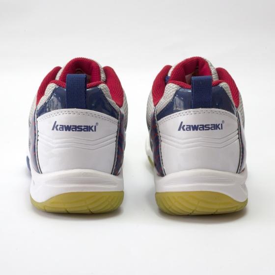 Giày cầu lông - Giày bóng chuyền nam nữ Kawasaki K156 Trắng