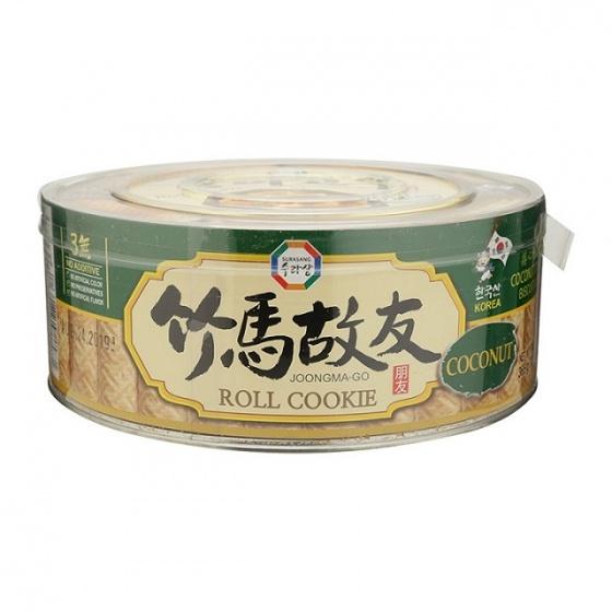 Bánh cuộn vị dừa Joongma-Go Hàn Quốc 365g/hộp - combo 3 hộp