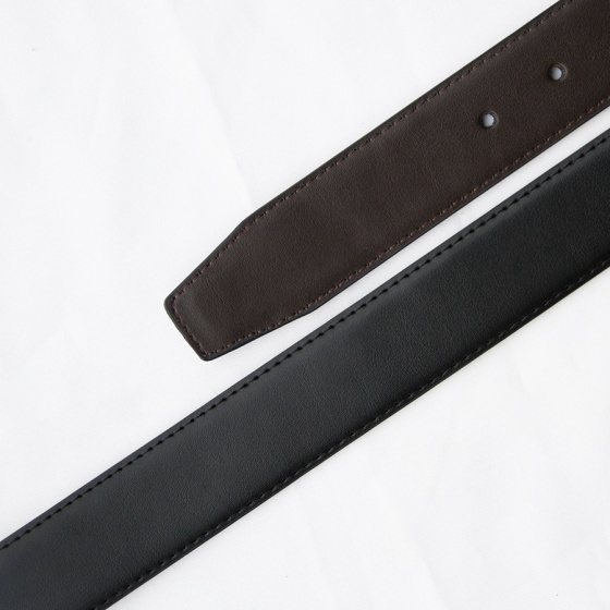 Thắt lưng, dây nịt nam da bò cao cấp khóa kim xoay chiều Manzo 117.V (tặng đinh đục lỗ)