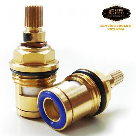 Vòi rửa chén lạnh Inox SUS 304 Eurolife EL-T017 (Trắng vàng)