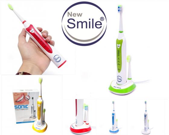 Bàn chải NewSmile Sonic + tặng kèm kẹp răng