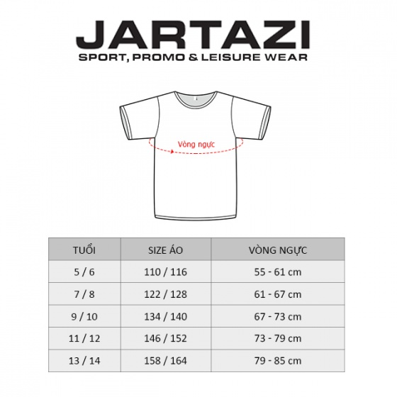 Quần short trẻ em Jartazi (short pant – kid) JM18-0014