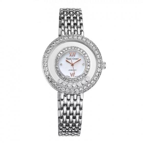 Đồng hồ nữ chính hãng Royal Crown 3628 dây thép