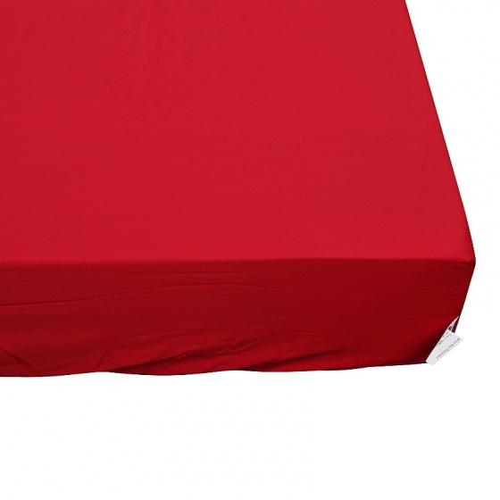 Ga bọc đệm và vỏ gối đơn ( 1 màu ) 200 x 220 cm - đỏ