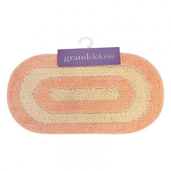 Thảm chùi chân cotton dệt Grand 40 x 60 cm - Hồng