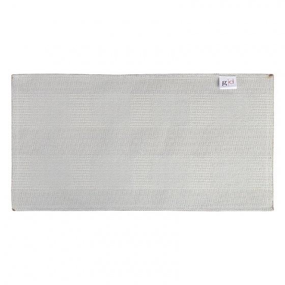 Thảm chùi chân cotton dệt Grand 40 x 60 cm - Nâu