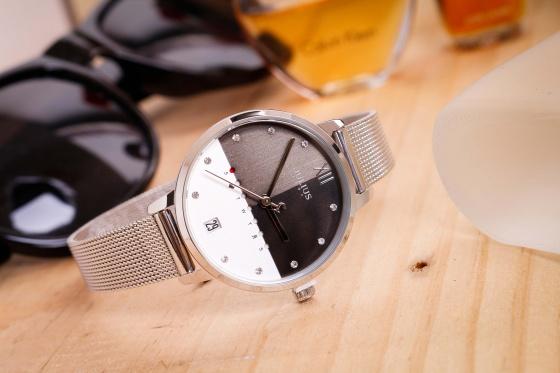 Đồng hồ nữ JA-1100 Julius Hàn Quốc dây thép (nhiều màu)