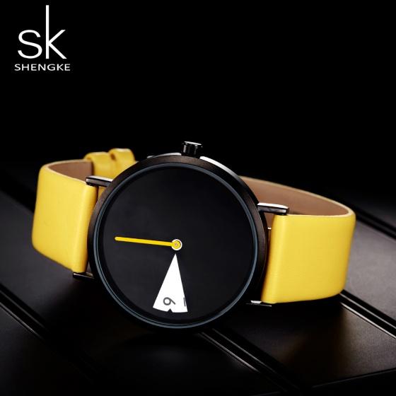 Đồng hồ nữ chính hãng Shengke UK K0090L-02 Vàng
