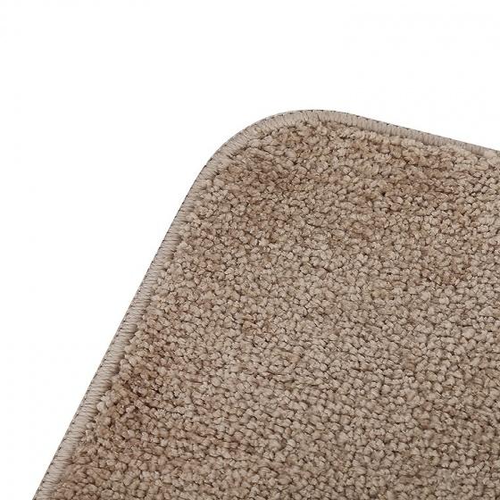 Thảm chùi chân Soft Polyester 40 x 60 cm - Nâu
