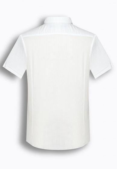 Áo sơ mi nam tay ngắn họa tiết The Shirts Studio Hàn Quốc TD09S2769WH