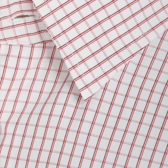 Áo sơ mi nam tay ngắn họa tiết The Shirts Studio Hàn Quốc TD45F6164RE