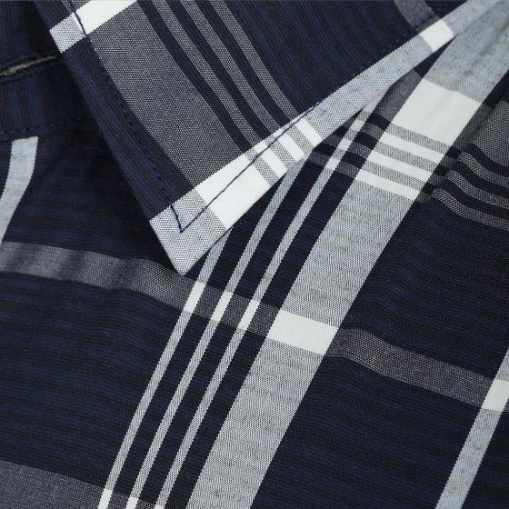 Áo sơ mi nam tay ngắn họa tiết The Shirts Studio Hàn Quốc TD45F6160NY95