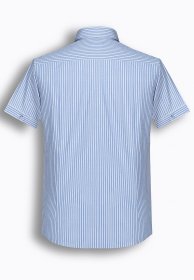 Áo sơ mi nam tay ngắn họa tiết The Shirts Studio Hàn Quốc TD45F6158BL095