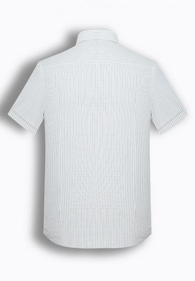 Áo sơ mi nam tay ngắn họa tiết The Shirts Studio Hàn Quốc TD45F6123GY095