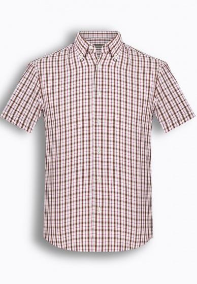 Áo sơ mi nam tay ngắn họa tiết The Shirts Studio Hàn Quốc TD45F6129PI095