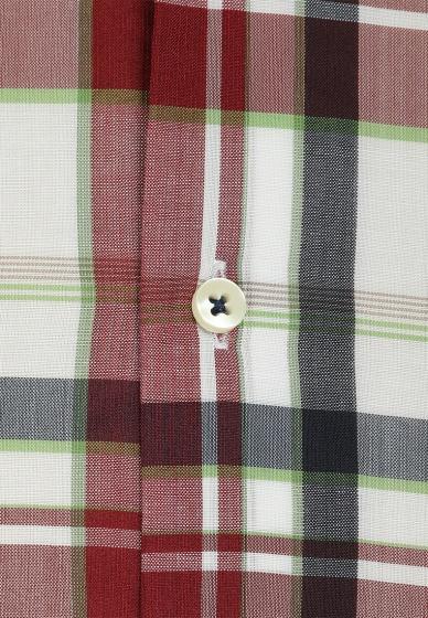 Áo sơ mi nam tay ngắn họa tiết The Shirts Studio Hàn Quốc TD45F2314GR095