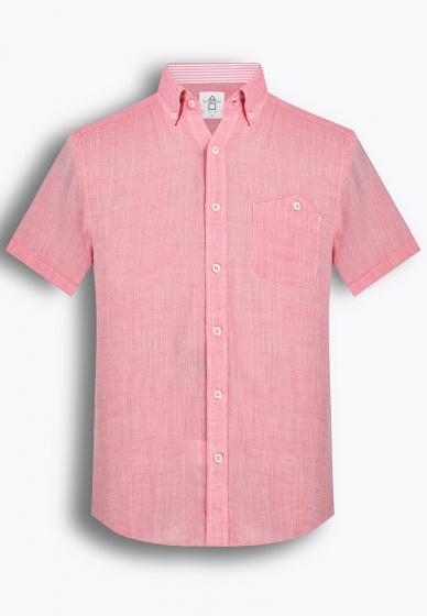 Áo sơ mi nam tay ngắn họa tiết The Shirts Studio Hàn Quốc TD42F2338PI
