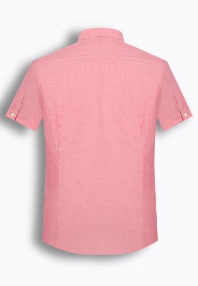Áo sơ mi nam tay ngắn họa tiết The Shirts Studio Hàn Quốc TD42F2307PI
