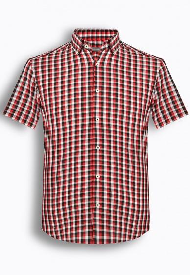 Áo sơ mi nam tay ngắn họa tiết The Shirts Studio Hàn Quốc TD12F2326RE