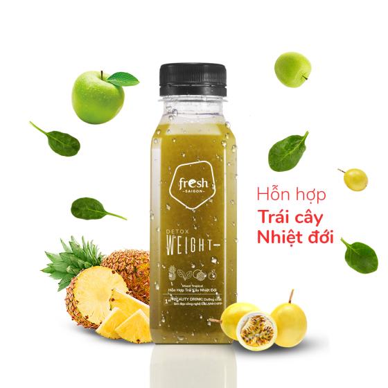 Beauty Drink Detox trái cây nhiệt đới