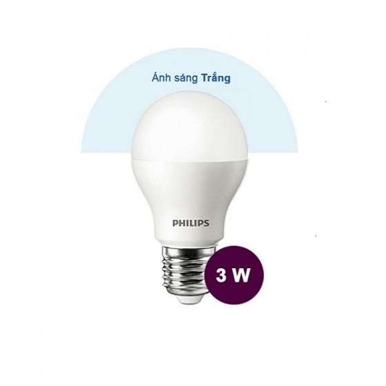 Bóng đèn LED Philips ESS LEDBulb 3W 6500K E27 230V P45 - Ánh sáng trắng