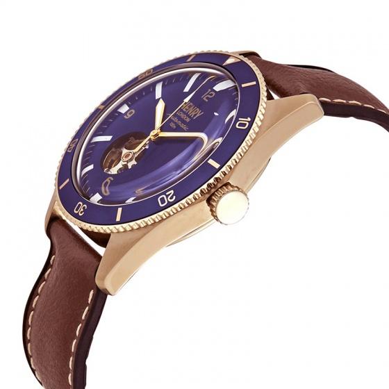 Đồng hồ cơ nam Henry-London Anh Quốc HL42-AS-0334
